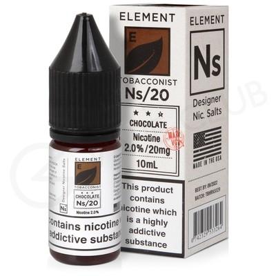 NS20, NS10 & NS5 Chocolate Tobacco E-Liquid By Element