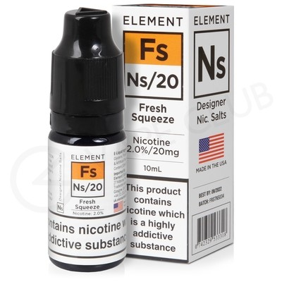 NS20, NS10 & NS5 Fresh Squeeze E-Liquid by Element