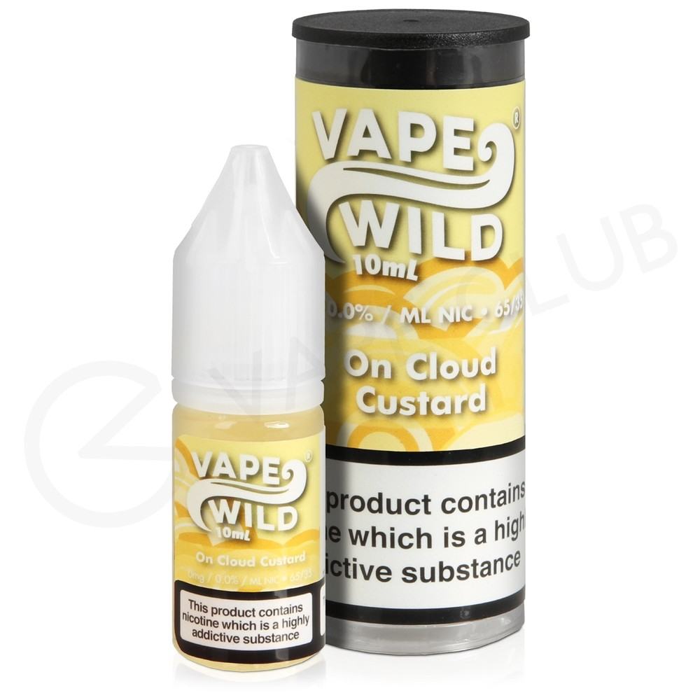 On Cloud Custard E-Liquid by Vape Wild