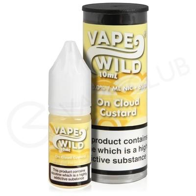 On Cloud Custard E-Liquid by Vape Wild
