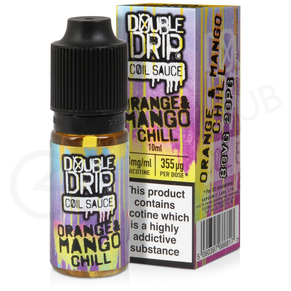 Orange Mango Chill eLiquid by Double Drip