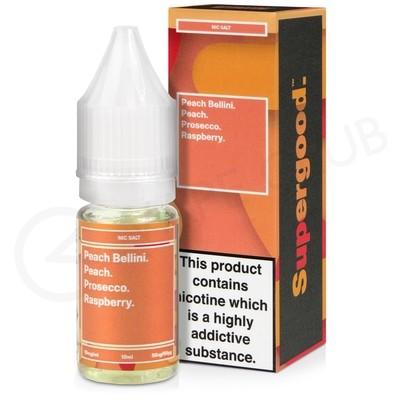 Peach Bellini Nic Salt E-Liquid by Supergood