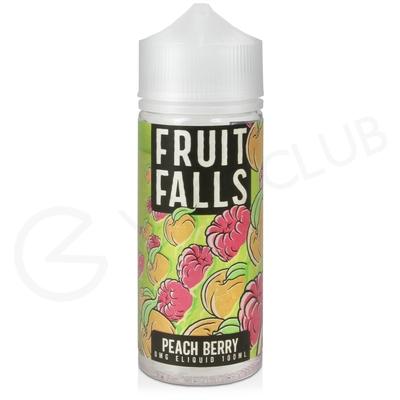 Peach Berry Shortfill E-Liquid by Fruit Falls 100ml