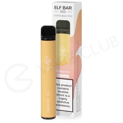 Peach Ice Elf Bar Disposable Vape