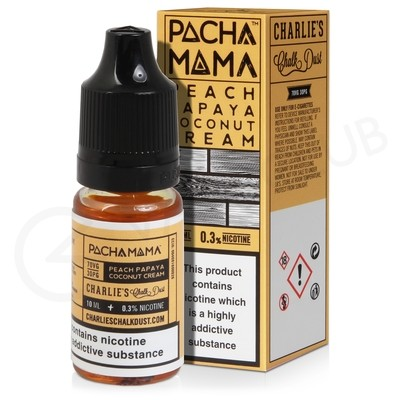 Peach, Papaya and Coconut Cream E-Liquid by Pacha Mama