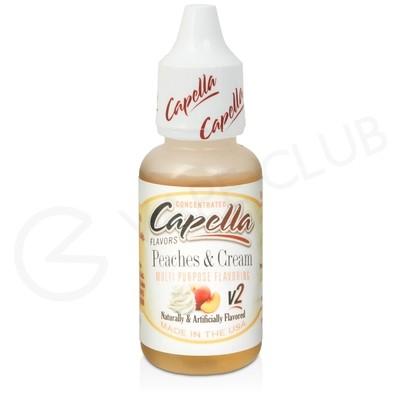 Peaches & Cream Flavour Concentrate by Capella