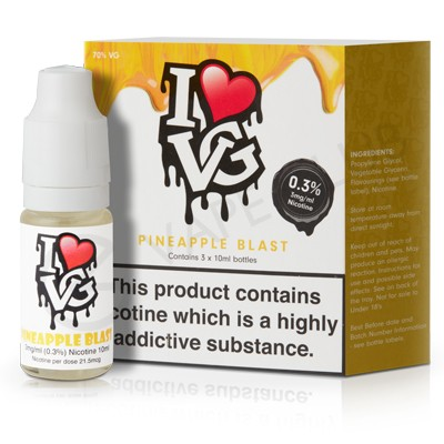 Pineapple Blast eLiquid by I VG