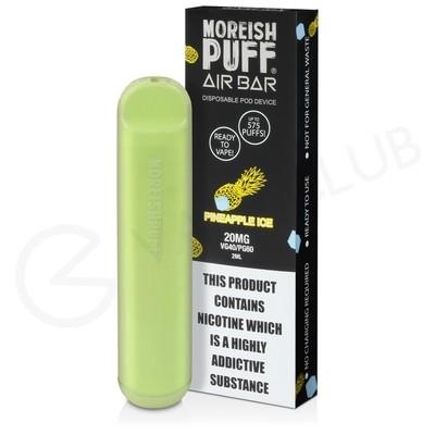 Pineapple Ice Moreish Puff Air Bar Disposable Vape