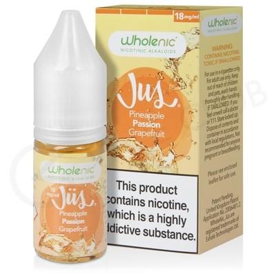 Pineapple Passionfruit & Grapefruit E-Liquid by Wholenic Jus