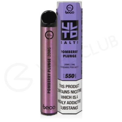 Pomberry Plunge XL Beco Bar ULTD Disposable