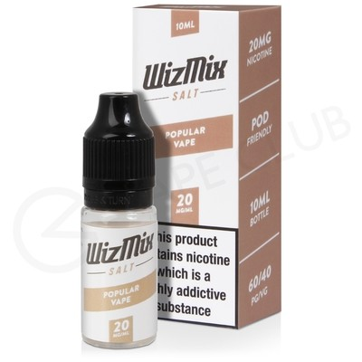 Popular Vape Nic Salt E-Liquid by Wizmix