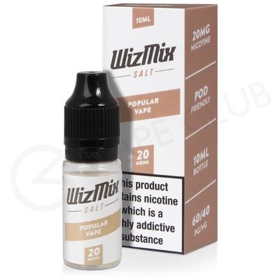 Popular Vape Nic Salt E-Liquid by Wizmix