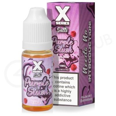 Purple Slush Nic Salt E-Liquid by X Series