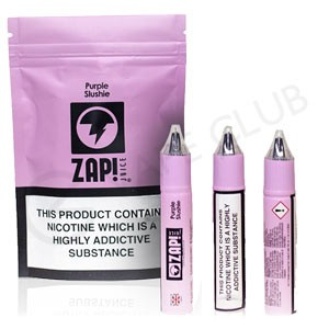 Purple Slushie eLiquid by ZAP! Juice