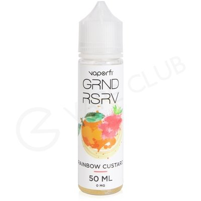 Rainbow Custard eLiquid by Grand Reserve 50ml
