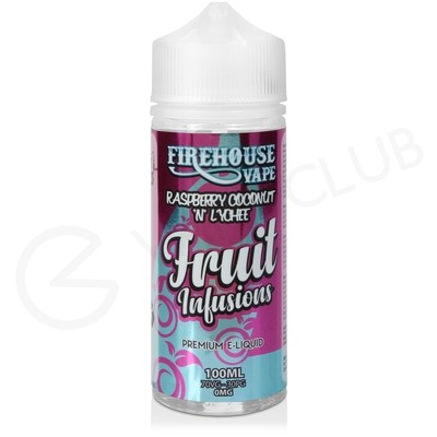 Raspberry Coconut N Lychee Shortfill E-Liquid by Fruit Infusions 100ml