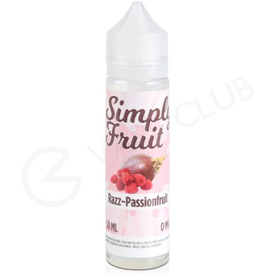 Razz Passionfruit eLiquid by Simply Fruit 50ml