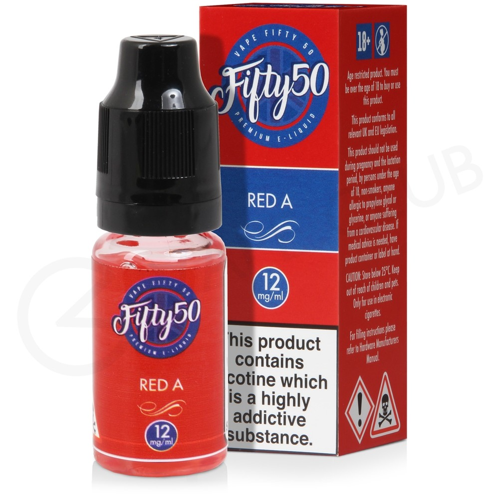 Red A eLiquid by Fifty 50