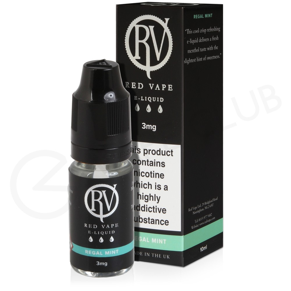 Regal Mint E-Liquid by Red Vape