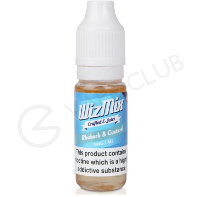 Rhubarb & Custard E-Liquid by Wizmix