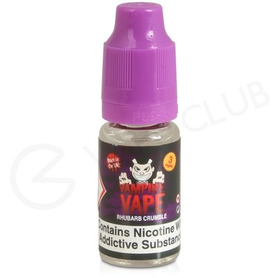 Rhubarb Crumble E-Liquid by Vampire Vape