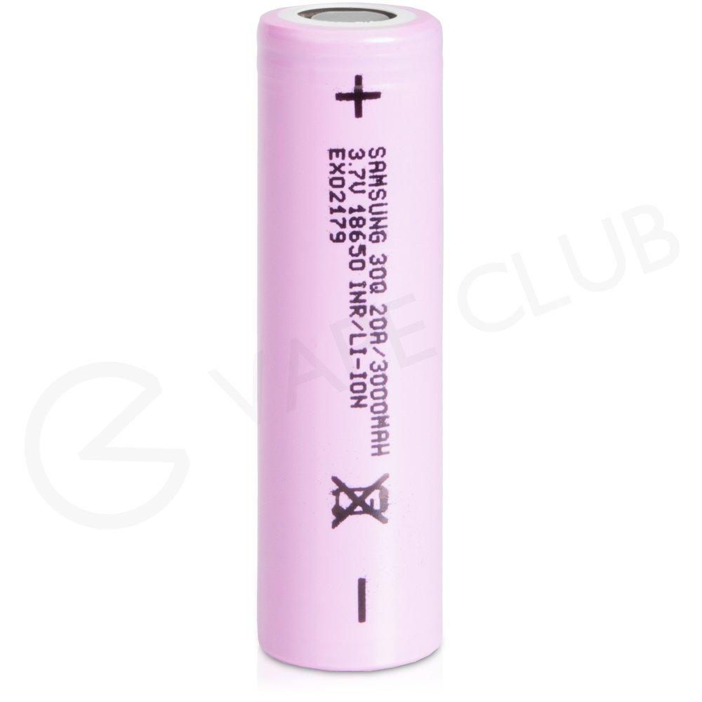 Samsung 30Q INR 18650 Rechargeable Vape Battery (3000mAh 15A)