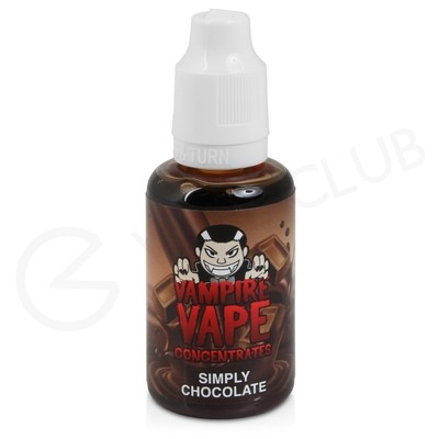 Simply Chocolate Flavour Concentrate by Vampire Vape