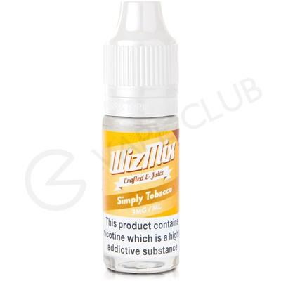 Simply Tobacco E-Liqiuid by WizMix