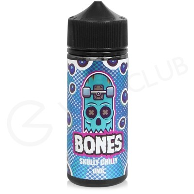 Skully Chilly Shortfill E-liquid by Wick Liquor Bones 100ml