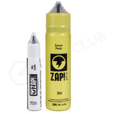 Snow Pear Shortfill E-liquid by Zap Juice 50ml
