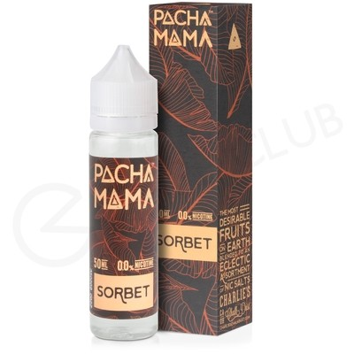 Sorbet Shortfill E-Liquid by Pacha Mama 50ml