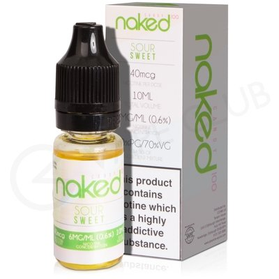 Sour Sweets eLiquid by Naked 100 Candy