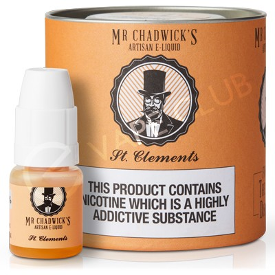 St Clements eLiquid by Mr Chadwick's