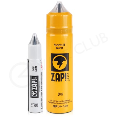 Starfruit Burst eLiquid by Zap! Juice 50ml