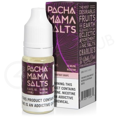 Starfruit Grape Nic Salt E-Liquid by Pacha Mama Salts