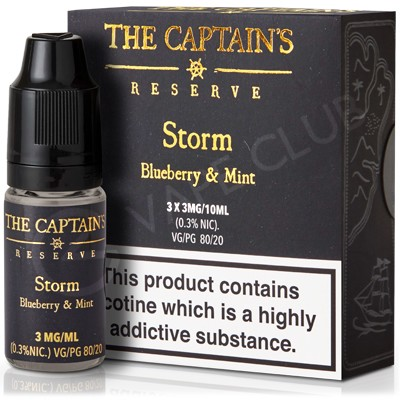 Storm Max VG eLiquid by The Captain's Reserve