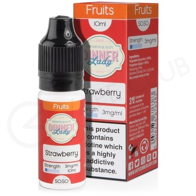 Strawberry E-Liquid by Dinner Lady 50/50