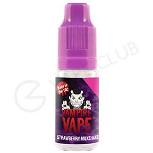 Strawberry Milkshake E-Liquid by Vampire Vape