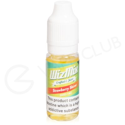 Strawberry Shiver eLiquid by Wizmix