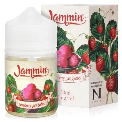 Strawberry Sorbet Shortfill E-Liquid by Jammin 50ml