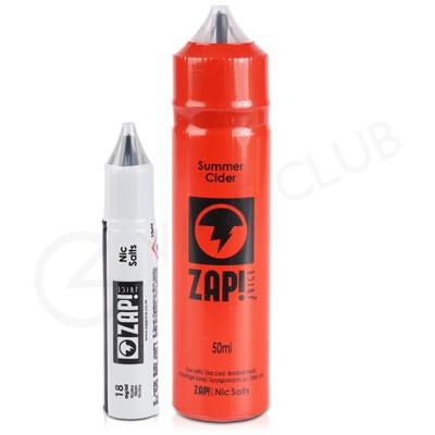 Summer Cider Shortfill E-liquid by Zap! Juice 50ml