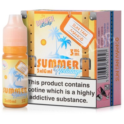 Sun Tan Mango eLiquid by Summer Holidays