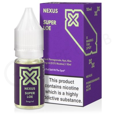 Super Loe E-Liquid by Pod Salt Nexus