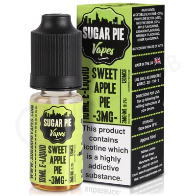 Sweet Apple Pie eLiquid by Sugar Pie Vapes