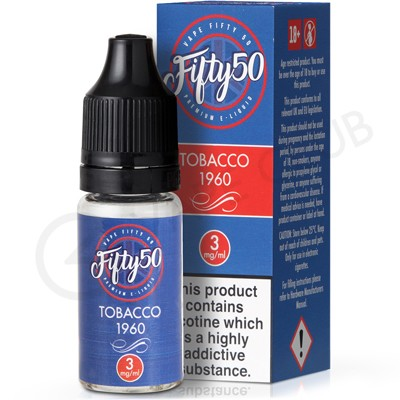 Tobacco 1960 eLiquid by Fifty 50