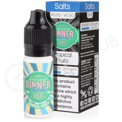 Tropical Fruits Nic Salt E-Liquid by Dinner Lady