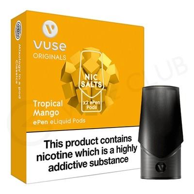 Tropical Mango Nic Salt ePen Prefilled Pod by Vuse