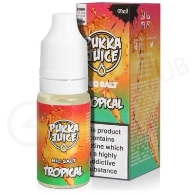 Tropical Nic Salt E-Liquid by Pukka Juice