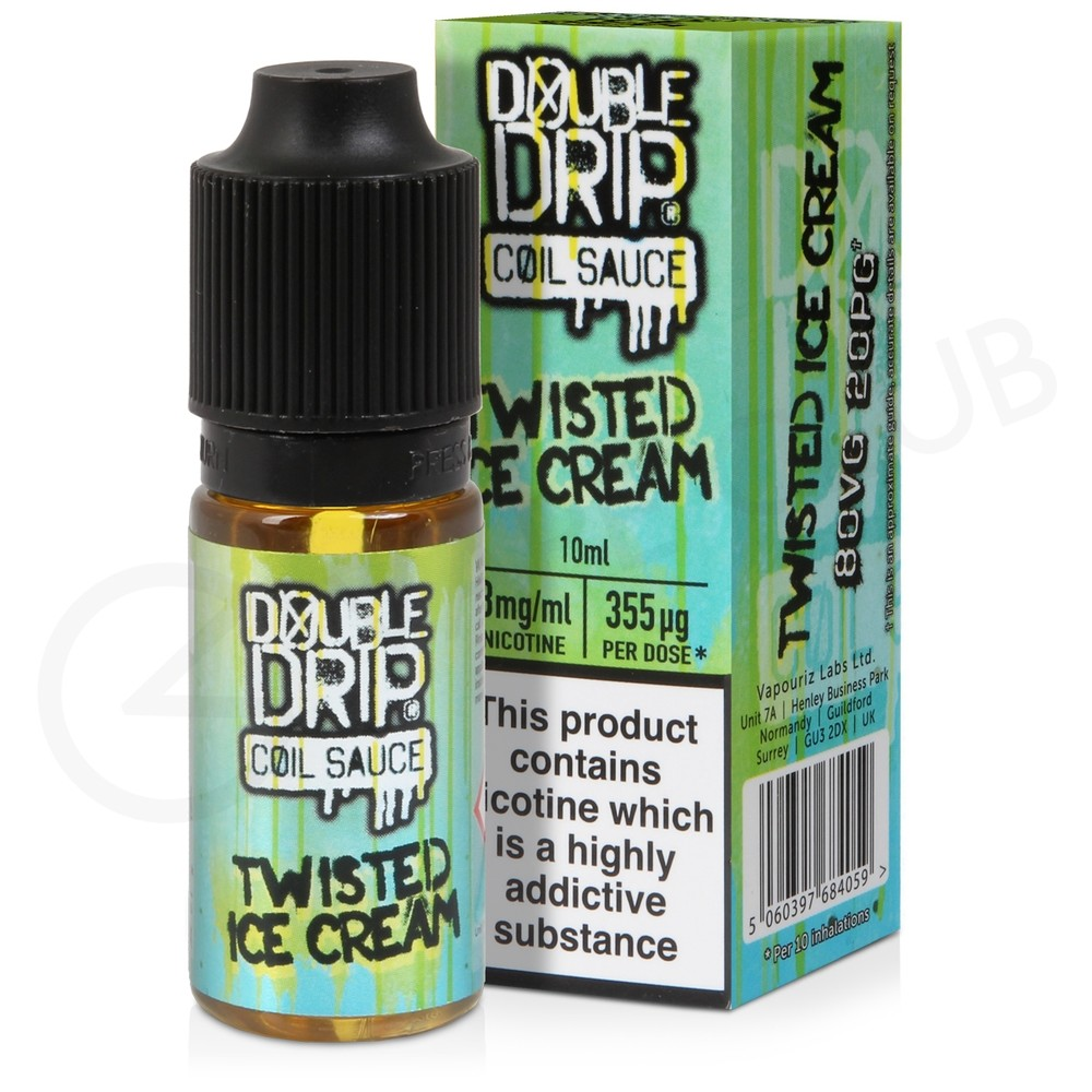 Twisted Ice Cream eLiquid by Double Drip