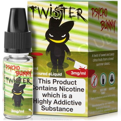 Twister eLiquid by Psycho Bunny